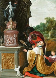 Studio of Frans Francken the Younger (Antwerp The Idolatry of Solomon x 53 cm. x 20 in. Black History Facts, Art History, Rococo, Baroque, European People, Burgundy Fashion, Basic Painting, Danse Macabre, Scenic Photography