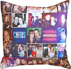 Picture collage pillow!