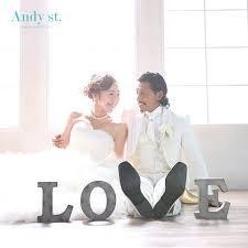 Andy st.(スタジオ アンディ)の結婚式の前撮り♪ウェディングドレス×スタジオ撮影! みんなのウェディング [フォトウェディング] フォトウェディングの検討ならこちら。ネット来店予約特典が満載。