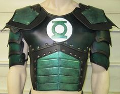 Juggernaut Leather Armor Chest, Back, and Shoulders with Graphic