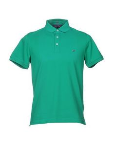 TOMMY HILFIGER Men's Polo shirt Green M INT
