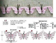 crochet buterflies (24)