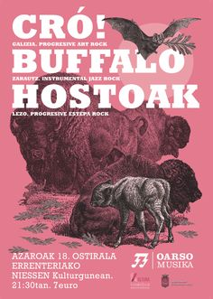 CRÓ! BUFFALO HOSTOAK