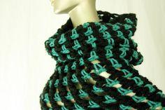 #crochet scarf by RonaCreations