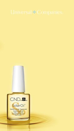 A favorite among nail professionals and clients, CND SolarOil is infused with jojoba oil and vitamin E. Repeated use drives nutrients in deeper, creating stronger, healthier nails, and hydrated cuticle area. Creative Nail Designs, Creative Nails, Pedicure Supplies, Salon Quotes, Brow Wax, Wax Hair Removal, Salon Equipment, Salon Business, Healthy Nails