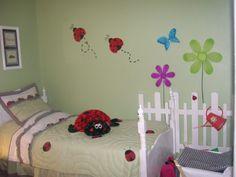 Little Girls Ladybug Bedroom
