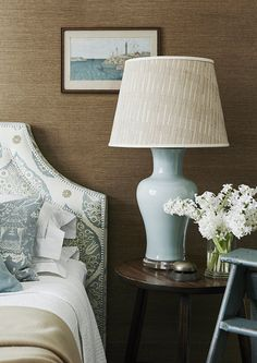 A beautiful colour that suits a softer and elegant interior. Each of our lamps are made by hand in ceramic and hand glazed. Colour, shape and size may vary slightly between products and these images. Ginger Jar Lamp, Ginger Jars, Ceramic Stool, Hill Interiors, Shared Bedrooms, Grand Homes, Bedside Table Lamps, Lamp Bases, Beautiful