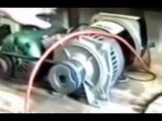 Energia elétrica infinita totalmente de graça de um gerador de energia e...