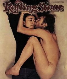 """Rolling Stone, January 22, 1981: John Lennon and Yoko Ono    Annie Leibovitz photographed John Lennon and Yoko Ono just hours before he was assasinated outside his New York City apartment building."
