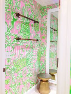 Lilly Pulitzer Dressing Room at Montgomery Mall in Bethesda, MD