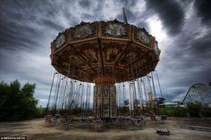Image result for abandoned amusement parks
