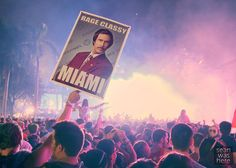 Classy prop at Ultra Music Festival, Bayfront Park, Downtown Miami
