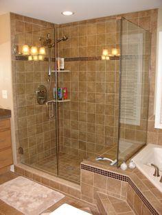 117 best frameless glass shower doors images | bathroom