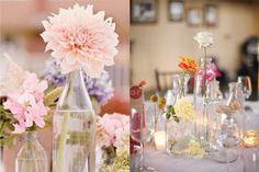 decoracao simples casamento mesa