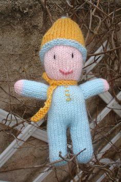 """Pour fêter mon arrivée dans la communauté """"je tricote, tu tricotes..."""" je…"""