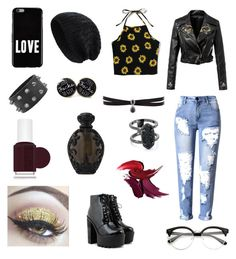 """Untitled #52"" by natali-radova on Polyvore featuring beauty, Givenchy, Fallon, Kendra Scott, Essie and Kat Von D"
