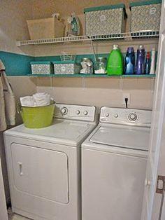 Laundry Closet Inspiration