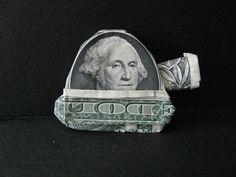 George - Tank Commander - Money Origami