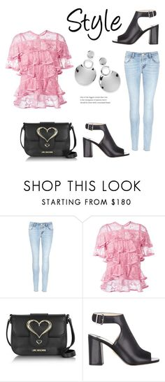 """""""282"""" by meldiana ❤ liked on Polyvore featuring J Brand, Elie Saab, Love Moschino, Prada and Ippolita"""