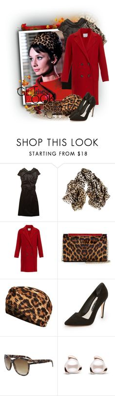 """""""Leopard Print Turban"""" by tasha1973 ❤ liked on Polyvore featuring St.Emile, Black, TIBI, Christian Louboutin, Topshop, Alice + Olivia and Kenneth Cole"""