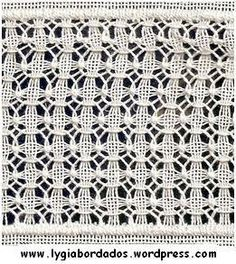 Hardanger Embroidery, Embroidery Stitches, Embroidery Patterns, Hand Embroidery, Drawn Thread, Crochet Cushions, Chicken Scratch, Needle Lace, Bargello