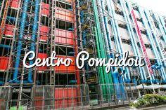 Centro Pompidou: Horarios y precios de este museo de París #paris #viajar #turismo #travel