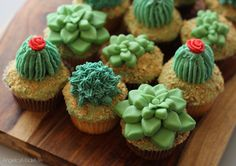 Succulent and Cactus Cookies