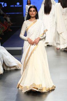 Gaurang at Lakmé Fashion Week Summer/Resort 2017 South Fashion, India Fashion, Lehenga Designs, Indian Attire, Indian Wear, Indian Dresses, Indian Outfits, Indian Lengha, Pakistani