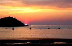 sunset-bay view by Hotel Londres, via Flickr