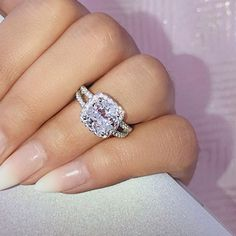 #hellojewelr #ring #engagement #weddings #shopping #weddingset #ringset #gift #silver #sterlingsilver #silverring #shopping #onlineshopping Bridal Ring Sets, Wedding Band Sets, Bridal Jewelry Sets, Bridal Rings, Wedding Rings, Bridal Jewellery, Silver Jewellery, Silver Bracelets, Diamond Jewelry