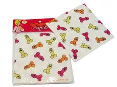 Willy Napkins - pack of 10 $7.95 FREE SHIPPING