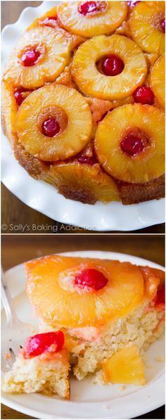 BEST Pineapple Upside-Down Cake