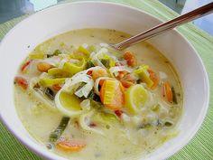 Afrikanische Erdnuss - Lauch - Suppe, ein schmackhaftes Rezept aus der Kategorie Kochen. Bewertungen: 71. Durchschnitt: Ø 4,2.