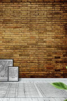 Bricks Wall Mural - Wallpaper