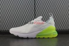 978c444097bc1e Nike Air Max 270 White Pack Volt AH8050-104 New Nike Air