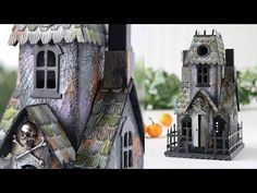 Tim Holtz Village Dies: Haunted Mansion | Simon Says Stamp Blog
