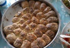Manti Koszovóból recept képpel. Hozzávalók és az elkészítés részletes leírása. A manti koszovóból elkészítési ideje: 60 perc Hungarian Recipes, Mantra, Scones, Pork, Ethnic Recipes, Desserts, Buns, Breads, Kale Stir Fry