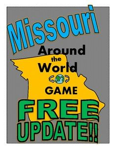 "With the recent election of Missouri's new governor, an update to the ""Missouri Around the World Game"" was needed!  Enjoy!"