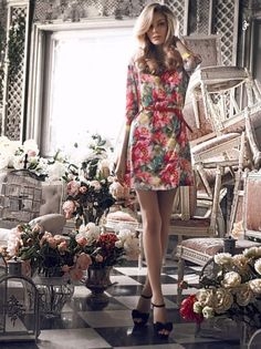 1128a355454 Florals - Style Mined Floral Print Dresses