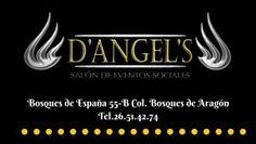 Salon de Eventos Sociales D Angels - Wedding Planner Bodas XV Años Graduaciones Bautizos Empresariales Convenciones Bosques de Aragon DF