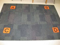 Help kids become confident learning to answer multiple choice questions prior to end of year assessments. Get a group active by putting letters on the corners of the rug and having kids walk to their answers to multiple choice questions.