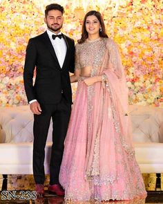 Indian Reception Outfit, Bride Reception Dresses, Wedding Reception Outfit, Wedding Ceremony, Reception Party, Wedding Wear, Engagement Dress For Bride, Couple Wedding Dress, Indian Engagement Outfit