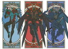 Final Fantasy Xv, Dark Fantasy Art, Fantasy Artwork, Cartoon As Anime, Anime Art, Nero Dmc, Dante Devil May Cry, Resident Evil, Dmc 5