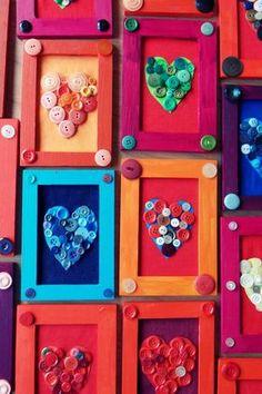 ATIVIDADES EDUCATIVAS- Quadrinho coração para o dia dos namorados!