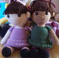 I made these dolls in the Spring of 2015, but have just now typed up the pattern for them. A little girl who lives local to me now owns them, and the last I heard she sleeps with them nightly and t…