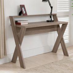 Furniture of America Parker 2 Tier Desk