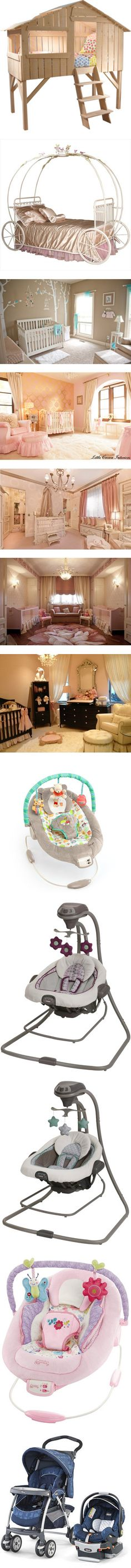 #2 by angelina-fiorilo on Polyvore featuring home, beds, furniture, kids, rooms, françois lamazerolles, children's room, children's furniture, baby and house