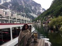 Glória Maria no Vale do Danúbio, na Áustria, em reportagem do Globo Repórter - Crédito: Globo/ Divulgação