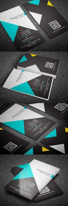 Creative Personal Business Card #businesscard #branding