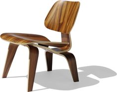 Charles & Ray Eames Eames molded plywood lounge chair - lcw by Herman Miller
